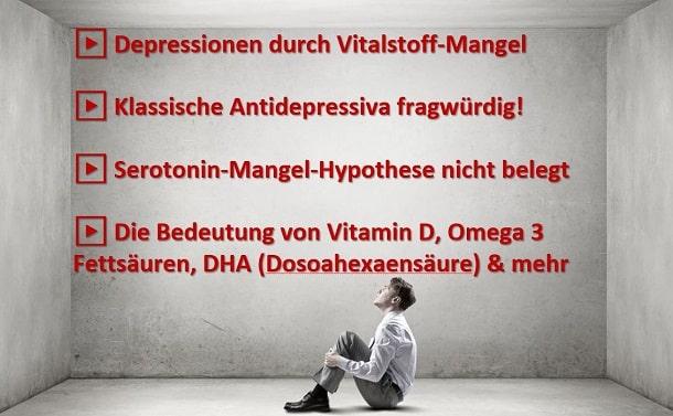 Depression durch Vitalstoffmangel