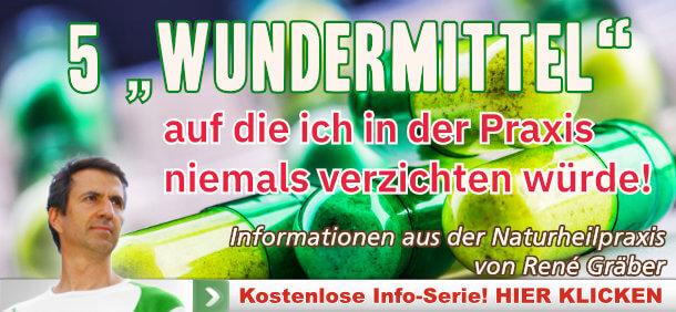 Newsletter - 5 Wundermittel René Gräber